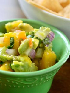 Sweet and spicy collide in this roasted habanero and mango salsa. Perfect for summer.