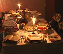 Wigilia is the traditional Christmas Eve vigil supper in Poland, held on… Polish Christmas Traditions, Holiday Traditions, Christmas Night, Merry Christmas, Xmas, Christmas Dinners, Celebrating Christmas, Christmas 2014, Christmas Recipes