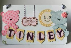 QK Button Bear (MCT background stamps on bears)