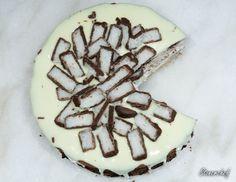 Sernik Bounty z polewą z białej czekolady - Stonerchef Waffles, Cheesecake, Food And Drink, Sugar, Cookies, Baking, Breakfast, Diet, Food Cakes