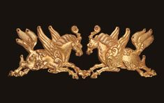 Ancient gold from the Mengdiexuan Collection.Chinese University of Hong Kong