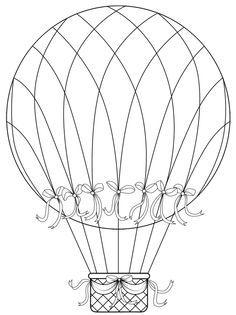 hot air balloon template | Hot Air Balloons