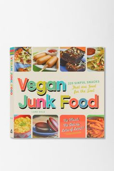 Vegan Junk Food By Lane Gold #urbanoutfitters