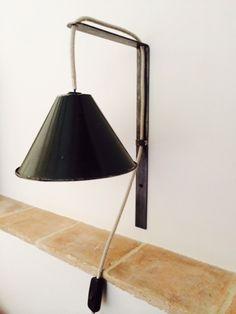 lampe applique métal industriel rétro Réalisation de lampes