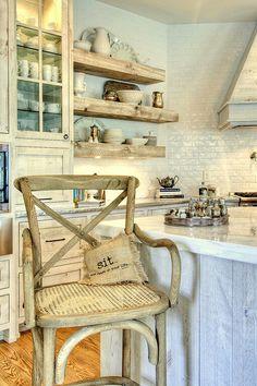 Shabby French kitchen