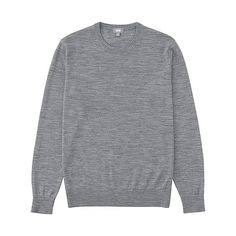 Uniqlo Extra Fine Merino Crew Neck Sweater #menswear