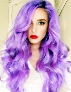 purple hair wig body wave synthetic lace front wigs for black women heat reisistant fiber free shipping