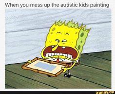 Image result for autistic spongebob memes