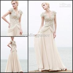 Wholesale Lace Sexy Glamorous Cap sleeves Elegant Chiffon Sheath mother of the bride dress pageant dresses, Free shipping, $86.24-119.84/Piece | DHgate