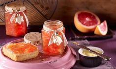 Ein exotischer Genuss ist diese Grapefruit-Ananas-Marmelade