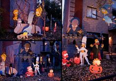 The 'I Love The Simpsons More Than Anything' House   20 Houses That Are Clearly Winning At Halloween