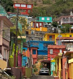 True Colors ~ Yauco, Puerto Rico  (by ronaldflores, via Flickr) Where my father-in-law lives