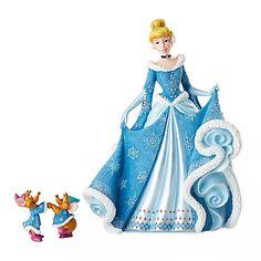 Cinderella Holiday Couture de Force Figurine by Enesco $99.95
