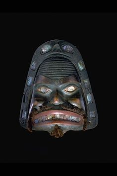 Tlingit frontlet (dogfish?). 19th century. @cargocultist