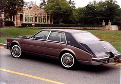 1984 Cadillac Seville - they perfected it this model year.fixed the HT4100 and then, discontinued this body style- darn!
