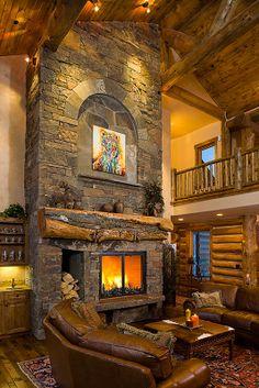 Great Rooms - Teton Heritage Builders