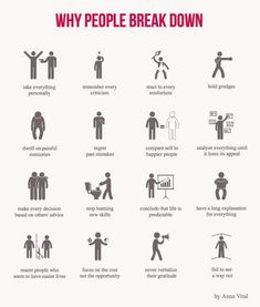 : Why people break down. Psychology infographic and charts Why people break down. Infographic Description Why people breakPsychology infographic and charts Why people break down. Infographic Description Why people break Mental Breakdown, Breakdown Quotes, Nervous Breakdown, Understanding Anxiety, Understanding Depression, Psychology Facts, Emotion Psychology, Psychology Major, Mental Health Awareness