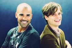 Shemar Moore and Matthew Gray Gubler have each others back!