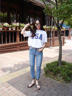koreanfashionotes - - korean fashion - ulzzang - ulzzang fashion - cute girl…