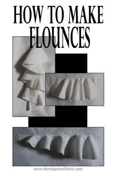 Tutorial: how to create different kinds of flounces, starting from the pattern. … Tutorial: how to create different kinds of flounces, starting from the pattern. …,Sewing Projects Tutorial: how to create different kinds of. Dress Sewing Patterns, Sewing Patterns Free, Free Sewing, Pattern Sewing, Skirt Patterns, Coat Patterns, Blouse Patterns, Pattern Drafting Tutorials, Sewing Tutorials