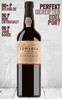 Fonseca Tawny Port 10 Years Old - http://weinblog.belvini.de/fonseca-10-years-tawny-port