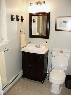 Simple Bathroom Remodel Design Idea