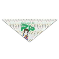ALIIXUN2 Welcome To 2016 Rio De Janeiro Olympic Games Pets Dogs Cats Puppy Bandana Bibs Triangle Head Scarfs Accessories *** You can get more details here : Dog Bandanas