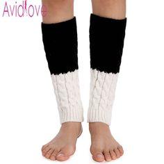 Rapture New Crochet Lace Trim Cotton Knit Leg Warmers Boot Socks Knee High Cuffs Lace Trim Gaiters Boot Crochet Leg Warmers 7colour Leg Warmers Underwear & Sleepwears