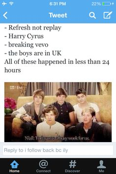 HAHAHAHA AND I WAS THERE TO MAKE AND WATCH IT HAPPEN. I am so proud of my boys and my fandom.