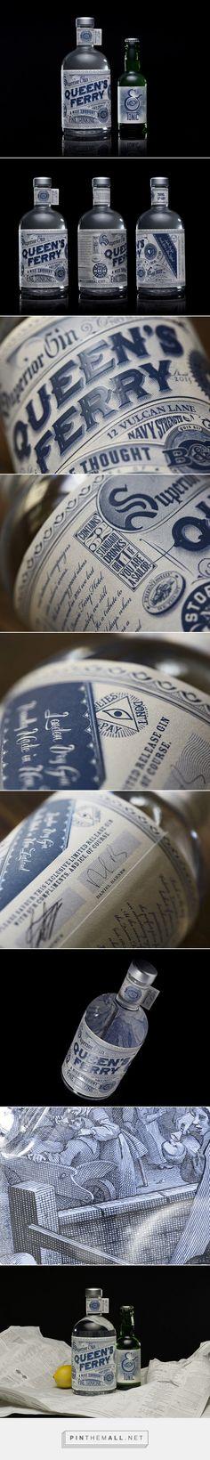 Queen's Ferry Gin by Barnes, Catmur & Friends