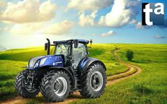 434 - TAEVision Scene #Agriculture #Farm #Farms #Farming #Forest #HeavyDuty Equipment #Tractor #NewHolland T7 Series New Holland, Agriculture, Farms, Tractors, Scene, 3d, The Farm, Tractor, Homesteads