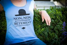 Non, non, je n'attends pas bêtement mon Prince Charmant Non Non, Prince Charmant, T-shirt Bleu, T Shirt, Tops, Women, Fashion, Life, Moda