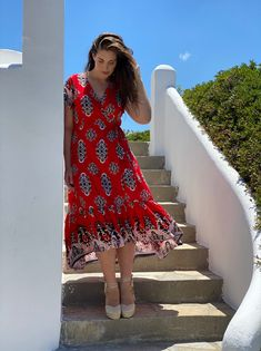 Summer Style By Mat. fashion Real Size Plus Size Fashion #matfashion #matfashionistas #matstyle #therealyou #realsize #realwomen #loveyourcurves #bodypositive #bodypositiveinfluencer #bodypositivity #SpringSummer2020 #ss2020 #collection #fashion #stylebeyondsize #beach #sea #summerstyle #resort #greeksummer Mat Fashion, Real Women, Plus Size Fashion, Curves, Wrap Dress, Spring Summer, Sea, Collection, Dresses
