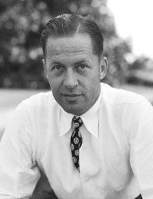 """Robert Tyre """"Bobby"""" Jones, Jr.  """"Lifelong amateur, considered by many to be the best golfer in history. He won the entire Grand Slam in 1930, the only person ever to do so in a single year. Notoriously, he called a penalty on himself causing his loss in a tournament. Over his career he won 13 major championships.... He founded the Augusta National Golf Club, out of which came the Masters Tournament."""""""