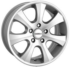 Wheel Focus: The Dezent K is a simple 7-spoke design with a silver finish. Ideal for BMW only.