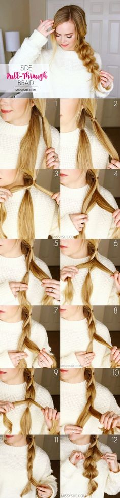 Hairstyles-that-can-be-done-in-3-minutes #trenzas
