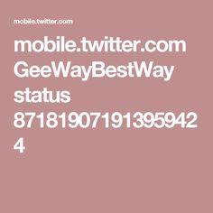 mobile.twitter.com GeeWayBestWay status 871819071913959424