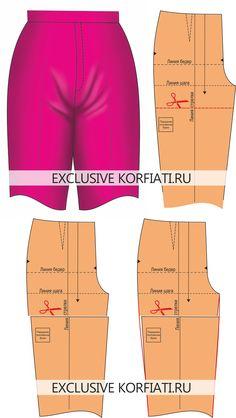 Устранение дефектов брюк (Pants / Trousers fitting.)