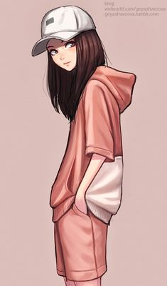 Image uploaded by 𝐆𝐄𝐘𝐀 𝐒𝐇𝐕𝐄𝐂𝐎𝐕𝐀 👣. Find images and videos about fashion, cute and beautiful on We Heart It - the app to get lost in what you love. Girl Drawing Sketches, Anime Girl Drawings, Cute Girl Drawing, Girly Drawings, Cartoon Girl Drawing, Beautiful Girl Drawing, Cool Anime Girl, Cute Cartoon Girl, Kawaii Anime Girl