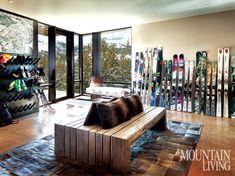 Slopeside Style - Mountain Living - January / February 2015