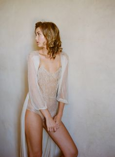 GirlwithaSeriousDream Magnolia French Chantilly Lace and tulle Bodysuit In Nude