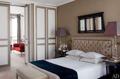 door/closet intergration-Tino Zervudachi's Artful Paris Duplex Apartment : Architectural Digest