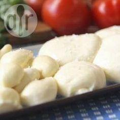 Foto de la receta: Queso mozzarella casero