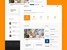 Intranet Homepage | Secret Escapes web ui homepage intranet design digital Sharepoint Design, Sharepoint Intranet, Intranet Design, Web Layout, Layout Design, Design Your Own Website, Secret Escapes, Homepage Design, Landing Page Design