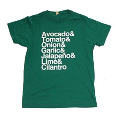 Guacamole The Shirt Tee now featured on Fab.