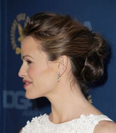 This Updo on Jennifer Garner Was the Very Best Hairstyle of the Weekend. Come See!