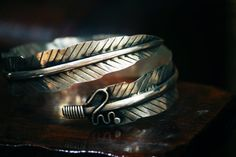 Silver feather bracelet Miao Hmong tribal nomadic woodland ethnic silver jewelry on Etsy, £23.01