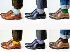 Dea' Twilight Zone - moda pra ti e por ti!: meias coloridas - nova tendência para homens cool!