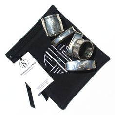 Antique Sterling Silver Napkin Rings. Anti Tarnish Bag From Sherwood Silver  Bags | Silver Napkin Rings | Pinterest | Silver Napkin Rings, Napkin Rings  And ...