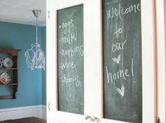 blackboard paint kitchen - Google Search
